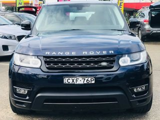 2014 Land Rover Range Rover Sport L494 MY15 HSE Dynamic Blue 8 Speed Sports Automatic Wagon