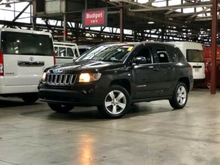 2011 Jeep Compass MK MY12 Sport Black 5 Speed Manual Wagon.
