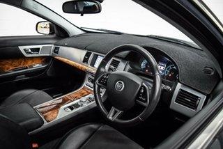 2013 Jaguar XF X250 MY13 Luxury Black 8 Speed Sports Automatic Sedan