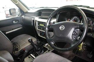 2015 Nissan Patrol GU Series 9 ST N-Trek White 5 Speed Manual Wagon