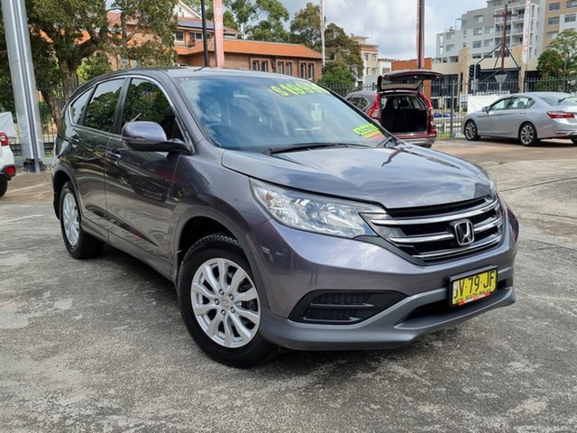 Used Honda CR-V RM MY14 VTi Hornsby, 2013 Honda CR-V RM MY14 VTi Grey 5 Speed Automatic Wagon