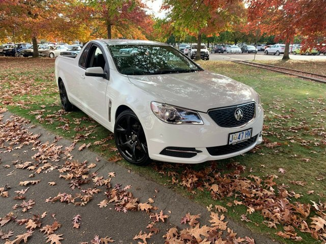 Used Holden Ute VF II MY17 Ute Launceston, 2017 Holden Ute VF II MY17 Ute White 6 Speed Sports Automatic Utility