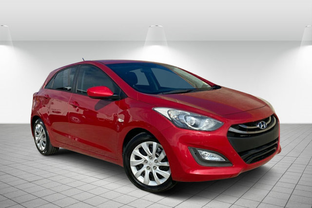 Used Hyundai i30 GD2 Active Hervey Bay, 2014 Hyundai i30 GD2 Active Red 6 Speed Sports Automatic Hatchback
