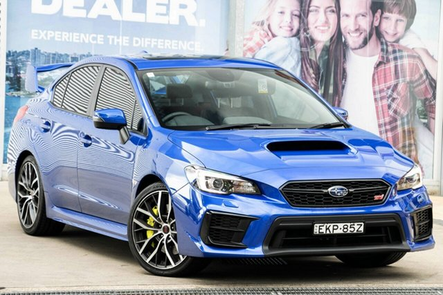 Used Subaru WRX V1 MY21 STI AWD spec.R Rosebery, 2020 Subaru WRX V1 MY21 STI AWD spec.R WR Blue 6 Speed Manual Sedan