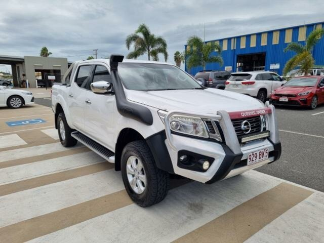 Pre-Owned Nissan Navara D23 ST Gladstone, 2015 Nissan Navara D23 ST White 6 Speed Manual Utility