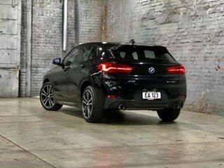 2018 BMW X2 F39 sDrive20i Coupe DCT Steptronic M Sport Black 7 Speed Sports Automatic Dual Clutch