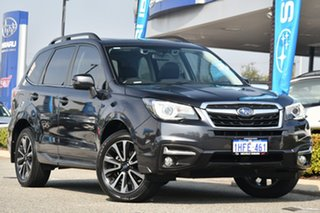 2017 Subaru Forester S4 MY17 2.5i-S CVT AWD Dark Grey 6 Speed Constant Variable Wagon.