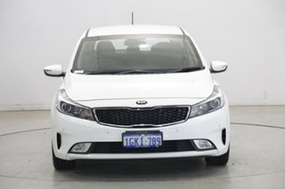 2017 Kia Cerato YD MY18 Sport White 6 Speed Sports Automatic Hatchback.