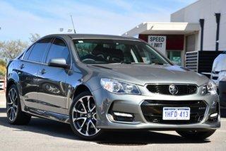 2016 Holden Commodore VF II MY16 SS V Grey 6 Speed Sports Automatic Sedan.