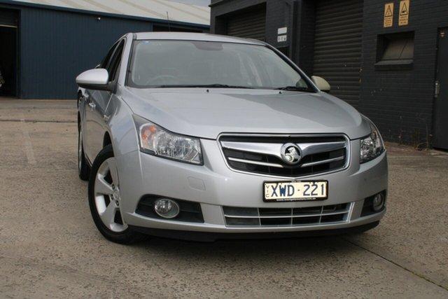 Used Holden Cruze JG CDX West Footscray, 2010 Holden Cruze JG CDX Silver 6 Speed Automatic Sedan