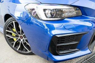 2020 Subaru WRX MY21 STI Spec R (Wing) (AWD) WR Blue 6 Speed Manual Sedan.