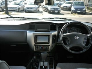 2011 Nissan Patrol GU 7 ST White Automatic Wagon