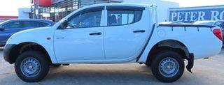 2007 Mitsubishi Triton ML GLX White 4 Speed Automatic Double Cab Utility