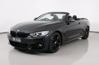 2014 BMW 428i F33 Modern Line Black 8 Speed Automatic Convertible.