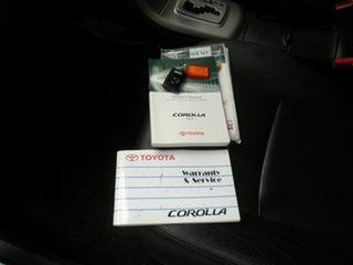 2007 Toyota Corolla ZRE152R Ultima Light Blue Metallic 4 Speed Automatic Sedan