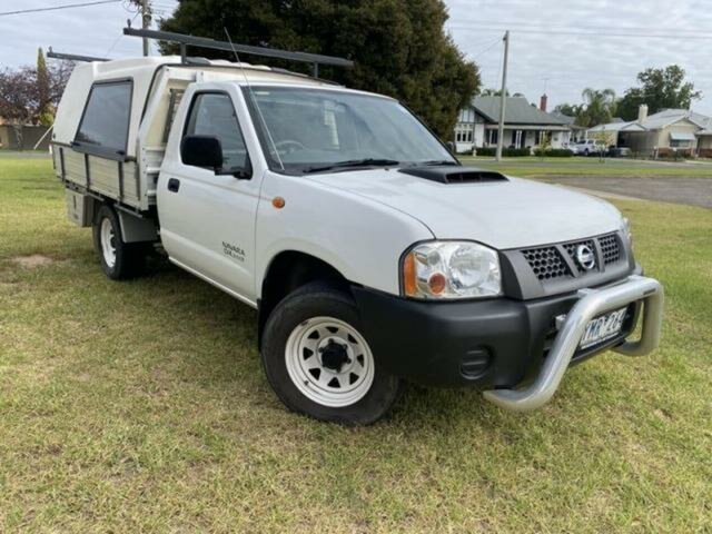 Pre-Owned Nissan Navara D22 Series 5 DX (4x2) Wangaratta, 2011 Nissan Navara D22 Series 5 DX (4x2) White 5 Speed Manual Cab Chassis