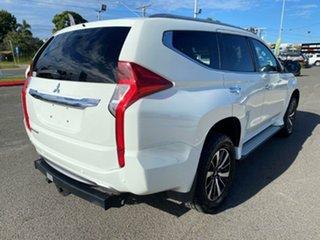 2016 Mitsubishi Pajero Sport QE MY16 GLX White Solid 8 Speed Sports Automatic Wagon.