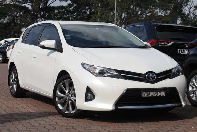 Pre-Owned Toyota Corolla ZRE182R Levin S-CVT SX Warwick Farm, 2013 Toyota Corolla ZRE182R Levin S-CVT SX White 7 Speed Constant Variable Hatchback