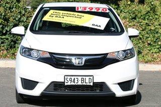 2016 Honda Jazz GF MY17 VTi White Orchid 5 Speed Manual Hatchback