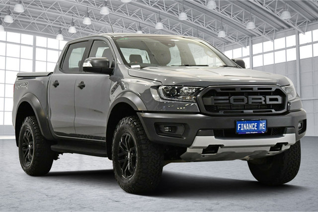 Used Ford Ranger PX MkIII 2019.00MY Raptor Victoria Park, 2018 Ford Ranger PX MkIII 2019.00MY Raptor Grey 10 Speed Sports Automatic Utility