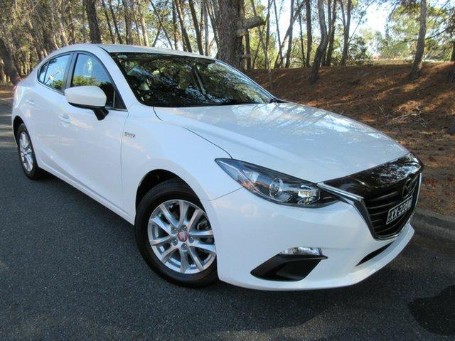Used Mazda 3 BM5278 Maxx SKYACTIV-Drive Reynella, 2014 Mazda 3 BM5278 Maxx SKYACTIV-Drive White 6 Speed Sports Automatic Sedan