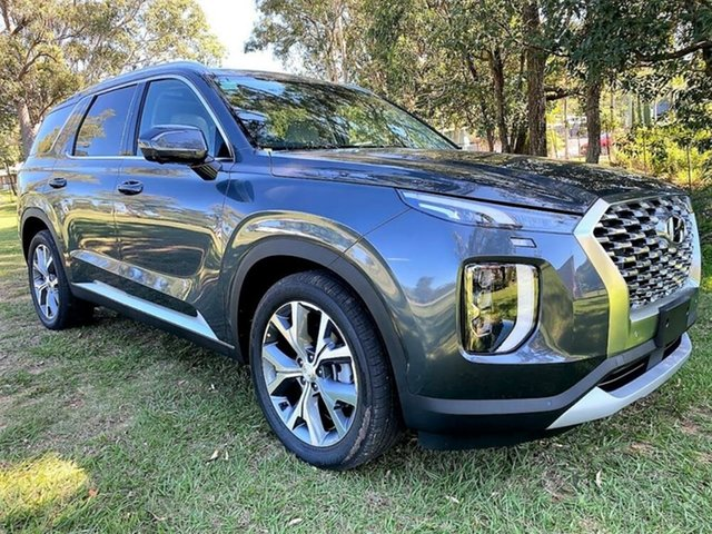 New Hyundai Palisade LX2.V1 MY21 Highlander 2WD Springwood, 2021 Hyundai Palisade LX2.V1 MY21 Highlander 2WD Steel Graphite 8 Speed Sports Automatic Wagon