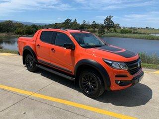 2019 Holden Colorado RG MY19 Z71 Pickup Crew Cab Orange 6 Speed Sports Automatic Utility.