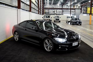 2014 BMW 4 Series F32 428i Sport Line Black 8 Speed Sports Automatic Coupe