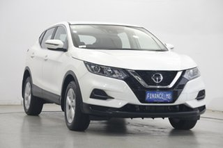 2019 Nissan Qashqai J11 Series 2 ST X-tronic White 1 Speed Constant Variable Wagon.