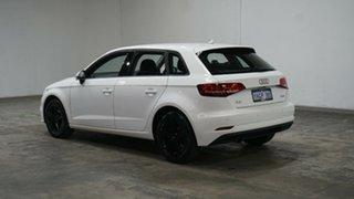 2016 Audi A3 8V MY17 Sportback S Tronic White 7 Speed Sports Automatic Dual Clutch Hatchback.