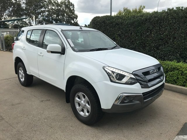 Used Isuzu MU-X MY17 LS-M Rev-Tronic Acacia Ridge, 2017 Isuzu MU-X MY17 LS-M Rev-Tronic White 6 speed Automatic Wagon