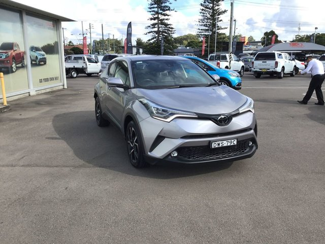 Pre-Owned Toyota C-HR NGX50R Koba S-CVT AWD Cardiff, 2018 Toyota C-HR NGX50R Koba S-CVT AWD Silver 7 Speed Constant Variable Wagon