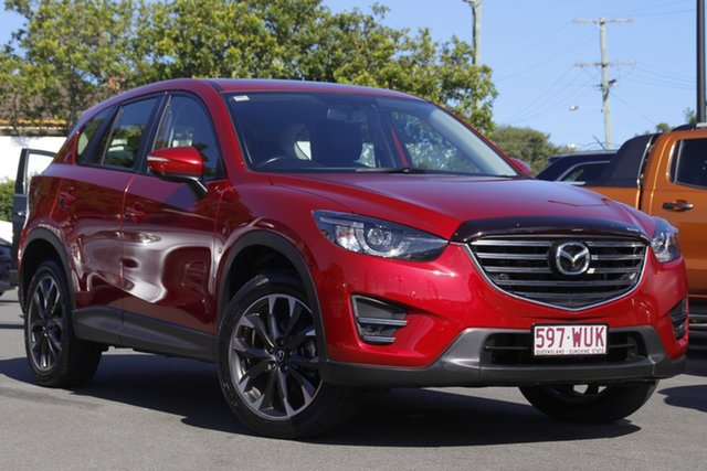 Used Mazda CX-5 KE1032 Grand Touring SKYACTIV-Drive AWD Mount Gravatt, 2016 Mazda CX-5 KE1032 Grand Touring SKYACTIV-Drive AWD Red 6 Speed Sports Automatic Wagon