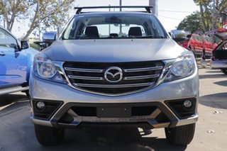 2019 Mazda BT-50 UR0YG1 XTR 4x2 Hi-Rider Silver 6 Speed Sports Automatic Utility.