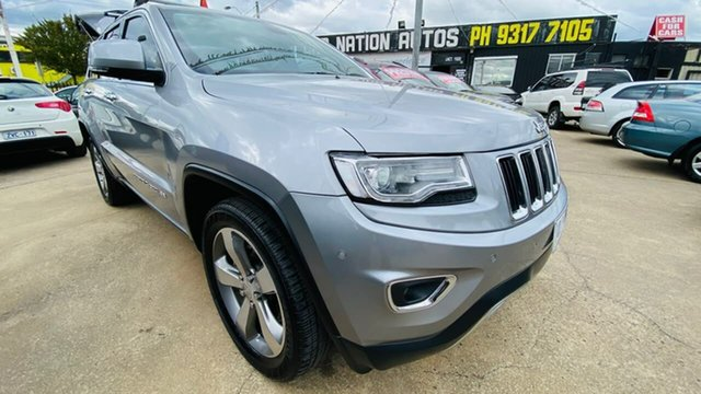 Used Jeep Grand Cherokee WK MY15 Limited Maidstone, 2014 Jeep Grand Cherokee WK MY15 Limited 8 Speed Sports Automatic Wagon
