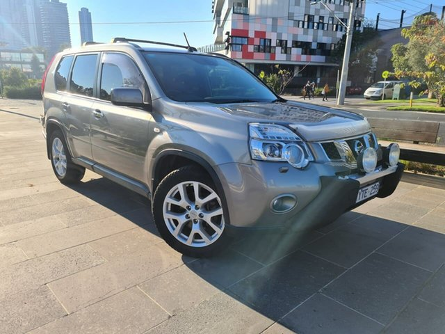 Used Nissan X-Trail T31 Series IV TI South Melbourne, 2011 Nissan X-Trail T31 Series IV TI Grey 1 Speed Constant Variable Wagon