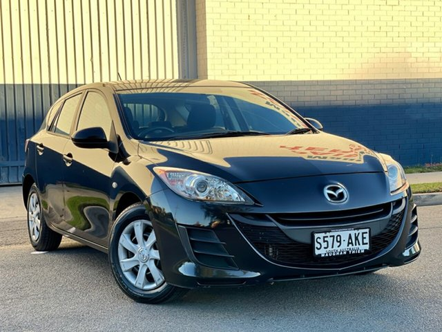 Used Mazda 3 BL10F1 MY10 Neo Cheltenham, 2011 Mazda 3 BL10F1 MY10 Neo Black 6 Speed Manual Hatchback