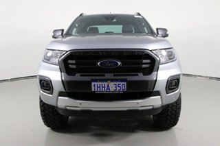 2021 Ford Ranger PX MkIII MY21.25 Wildtrak 3.2 (4x4) Silver 6 Speed Automatic Double Cab Pick Up.
