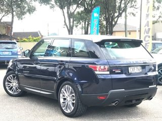 2014 Land Rover Range Rover Sport L494 MY15 HSE Dynamic Blue 8 Speed Sports Automatic Wagon.