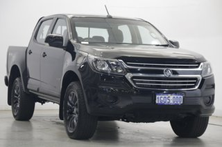 2018 Holden Colorado RG MY19 LS Crew Cab Black 6 Speed Sports Automatic Cab Chassis