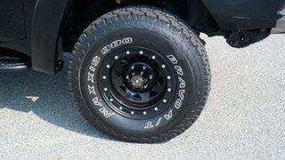 2010 Nissan Patrol GU 7 MY10 ST Black 5 Speed Manual Wagon