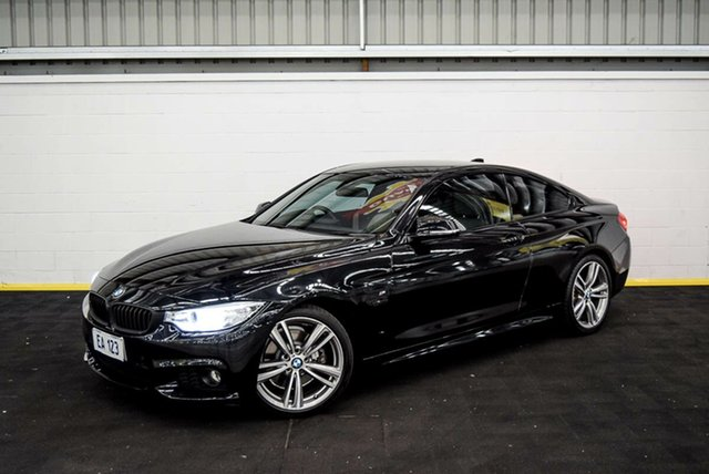 Used BMW 4 Series F32 428i Sport Line Canning Vale, 2014 BMW 4 Series F32 428i Sport Line Black 8 Speed Sports Automatic Coupe