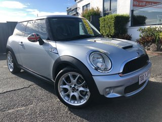 2008 Mini Hatch R56 Cooper S Silver 6 Speed Sports Automatic Hatchback.