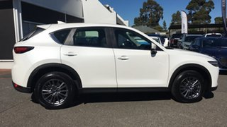 2017 Mazda CX-5 KF4W2A Touring SKYACTIV-Drive i-ACTIV AWD White 6 Speed Sports Automatic Wagon