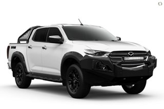 2021 Mazda BT-50 TFS40J Thunder White 6 Speed Sports Automatic Utility.