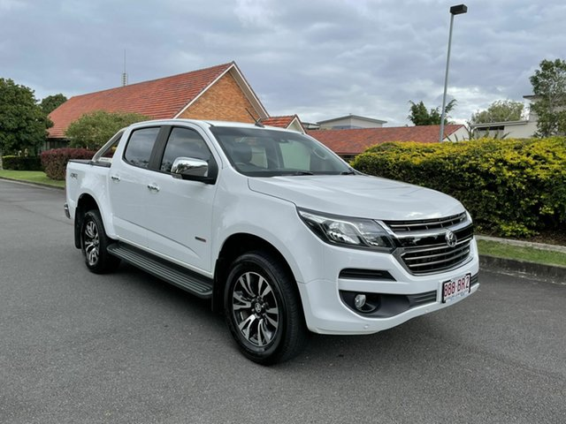 Used Holden Colorado RG LTZ Chermside, 2016 Holden Colorado RG LTZ White 6 Speed Manual Dual Cab
