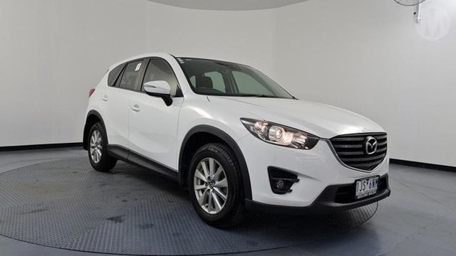 Used Mazda CX-5 MY17 Maxx Sport (4x4) Altona North, 2017 Mazda CX-5 MY17 Maxx Sport (4x4) Crystal White 6 Speed Automatic Wagon