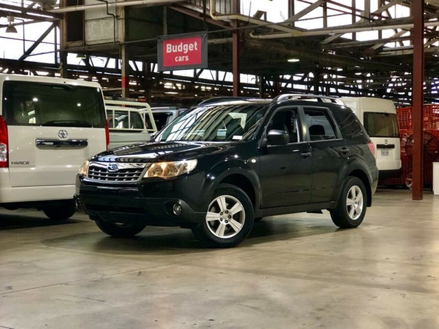 Used Subaru Forester S3 MY12 X AWD Luxury Edition Mile End South, 2012 Subaru Forester S3 MY12 X AWD Luxury Edition Black 4 Speed Sports Automatic Wagon