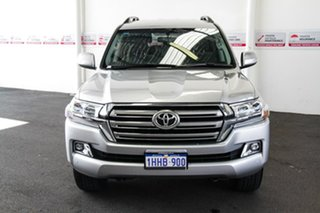 2019 Toyota Landcruiser VDJ200R GXL Silver Pearl 6 Speed Sports Automatic Wagon.