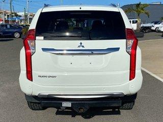 2016 Mitsubishi Pajero Sport QE MY16 GLX White Solid 8 Speed Sports Automatic Wagon